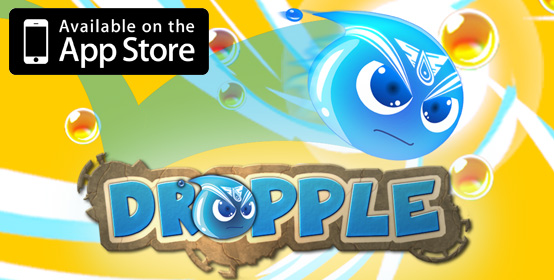 Dropple available on the app store